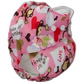 Многоразовый подгузник для малышей с рисунком